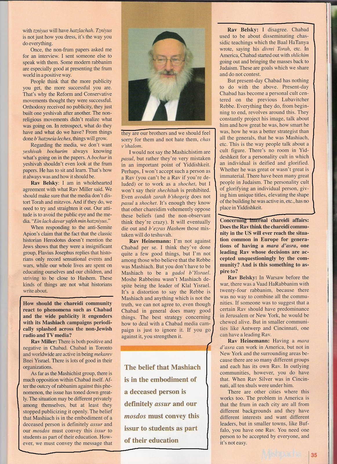 Is Chabad A Personality Cult?
